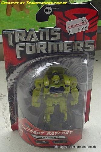 Ratchet Movie-2007 yellow-green Legends Transformers 001
