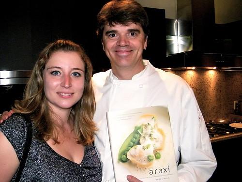 Araxi Executive Chef James Walt & Me