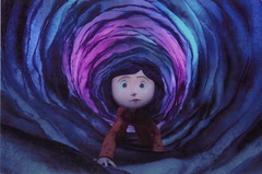 Coraline Postcard (crayolamom) Tags: film movie postcard animation timburton burton coraline