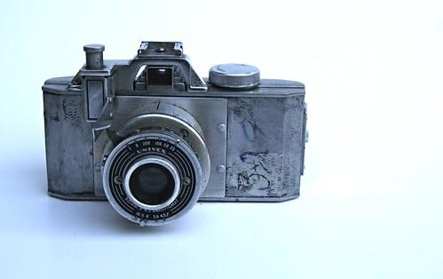 Univex Zenith - Cast Aluminum Vintage Camera