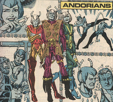 "TOS ""Who's Who in Star Trek"": Andorians"