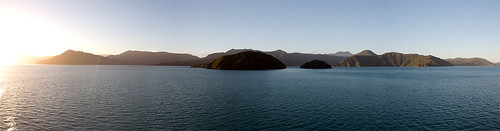 Queen Charlotte Sound Panorama