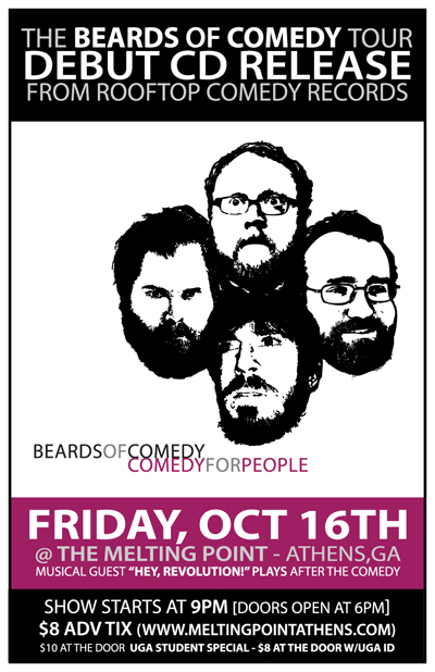 The Beards Of Comedy @ The Melting Point