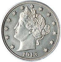 1913_Liberty_Nickel_Obverse