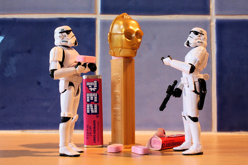 This is the Pez Dispenser we are looking for