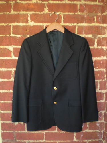 Etsy: Vintage Brooks Brothers Fitted Blazer