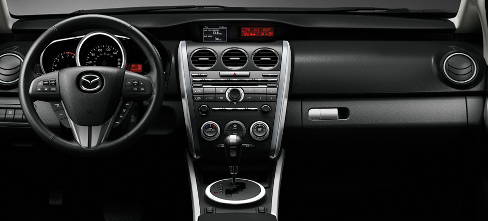 redesigned interior Mazda CX-7