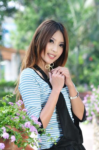 [フリー画像] 人物, 女性, アジア女性, 台湾人, 201005041700