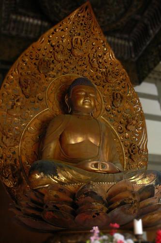 Golden Buddah (Amida)