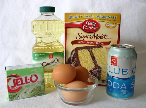 Yellow Cake Mix Brownies
