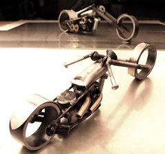Metal Art Motorcycle number 101