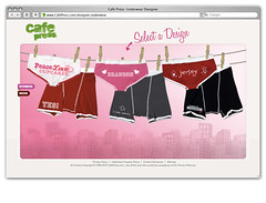Underwear Designer III (Mojave Interactive) Tags: sexy underwear webdesign ecommerce cafepress artdirection socialmedia personalizedgifts
