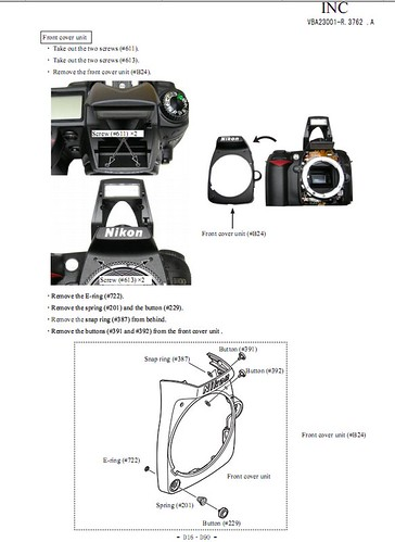 NIKON D90 SERVICE & REPAIR MANUAL