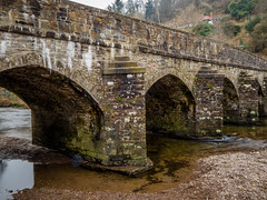 bridge (2) (grahamrobb888) Tags: panasonic somerset dulverton dmctz60 bridge river reflection water stonedecoration