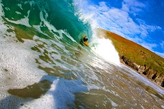 Tim 1 (martingeorgeyelland) Tags: barrel bodyboarder coast cornwall ocean sunshine surf wave