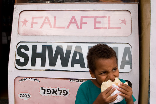 Kid A and the Falafel