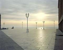 De Madrid a Mar del Plata. (zaqi) Tags: sunrise landscape shift nopeople swing amanecer negative 4x5 tilt placa 2009 largeformat mardelplata viewcamera toyo toyoview 150mm lobomarino iso160 zaqi portranc sheetfilm 10x13 formatogrande