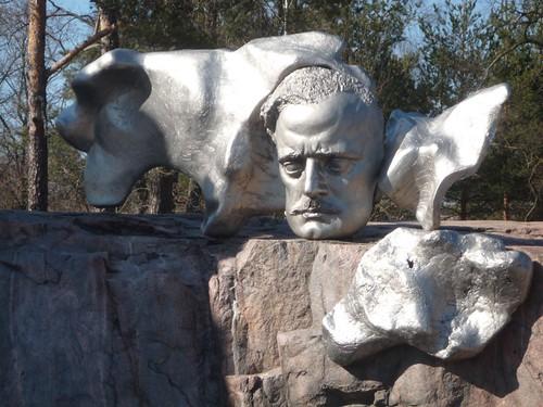 Sibelius monument park Helsinki