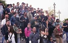 Photo Contest #1 (Jitterro) Tags: people film losangeles chinatown crowd january photographers downtownla 2009 100iso downtownlosangeles yashicalynx5000 fujisuperiareala100iso jitterro laphotocontest09