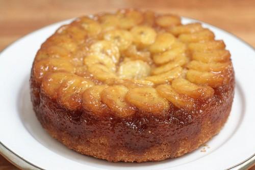 Gâteau tatin bananes & citron vert