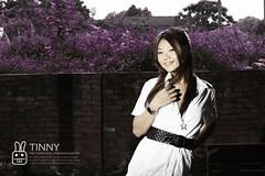 Tinny (` 川) Tags: girl beauty canon model pretty sweet young 台中 外拍 5014 廢墟 模特兒 50d 24105l 嶺東 彩色眷村