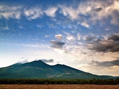 San Francisco Peaks, Flagstaff (dtedesco) Tags: county sunset mountain storm clouds forest landscape san francisco sundown peak mount national peaks coconino humphreys agassiz mywinners abigfave