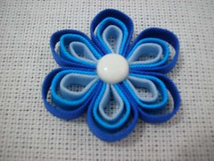 Fuxico de viés (Minhas Crias) Tags: artesanato fuxico pap tecido retalho trabalhosmanuais viés passoapasso