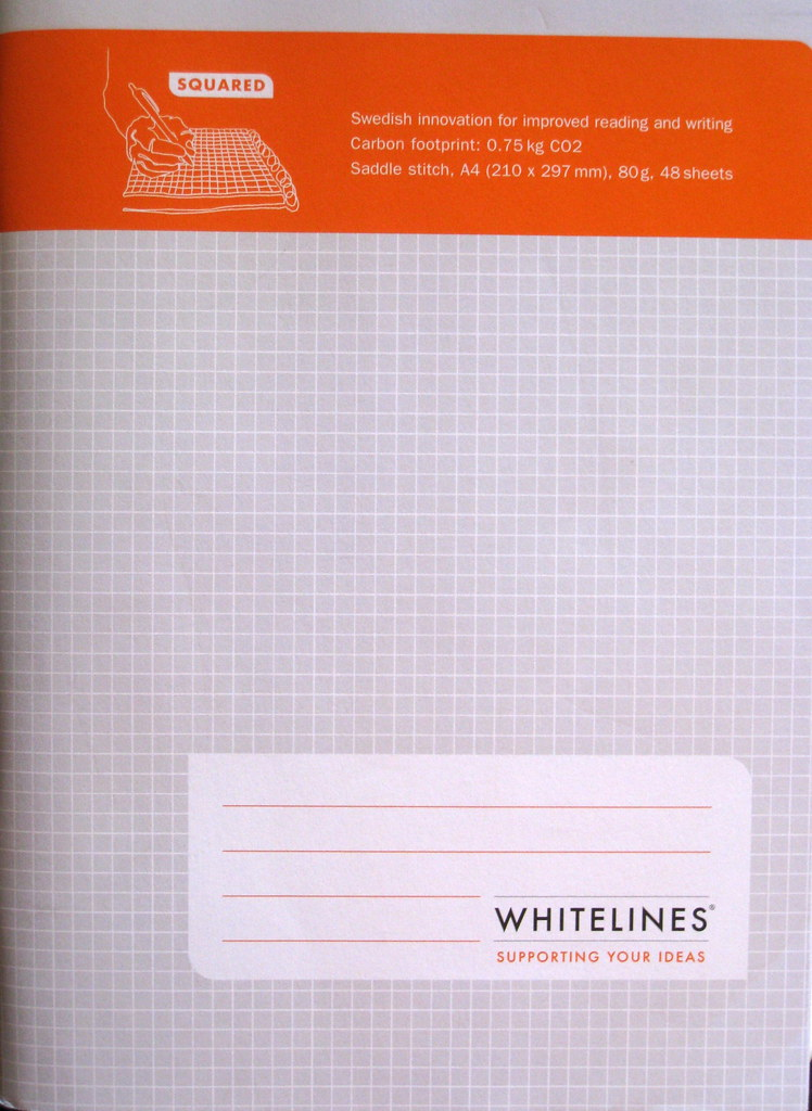 Whitelines Notebook