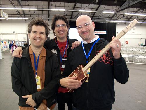 Mark, Mister Jalopy & David