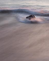 Dail Beag - Dancing Light (David Kendal) Tags: beach minimal simplicity waterblur minimalism minimalistic goldenhour isleoflewis hebrides sandybeach dancinglight intimatelandscapes dailbeag wavemotion dhailbeag baghdailbheag detailsinthelandscape