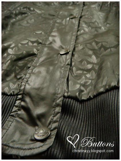Adidas Black & Metal Gold Jacket