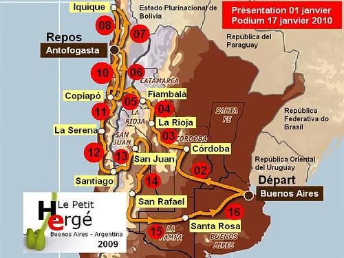Dakar 2010 Argentine Chili