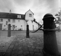 New looking old - pinhole (wheehamx) Tags: harbour pinhole irvine harbourside