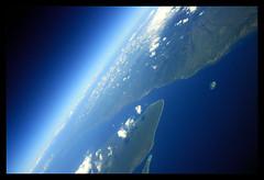 Flight Bali-Bangkok (Markus Hill) Tags: ocean travel sky bali cloud holiday window canon indonesia airplane island coast java asia asien meer aerial insel flugzeug 2009 luft strait indonesien reise luftaufnahme flug selatbali flickrcinated vividstriking
