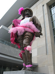 Sir Walter Raleigh Goes Pink