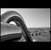 agua, aire, tierra... y metal (Bous Castela) Tags: metal canon mar agua asturias escultura paseo gijon aire lineas tierra curvas elrinconin milde ltytr1 canoneos1000d bouscastela
