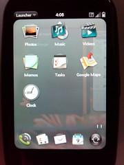 Palm Pre Launcher Close up