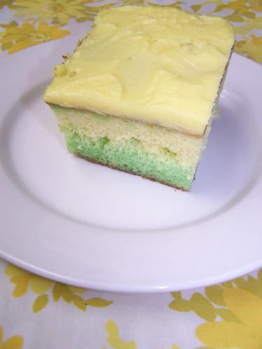 Grams' lemon-lime cake