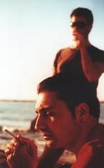 Assorti (gd.grosso) Tags: portrait mare ritratto spiaggia fumo sigaretta campomaricno