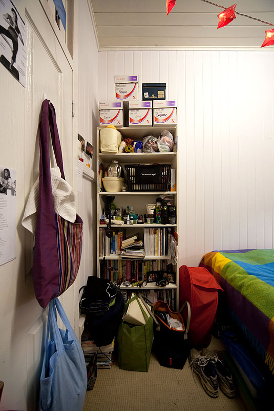 A room, rearranged