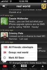Tweetdeck for iPhone - Groups and Notifications