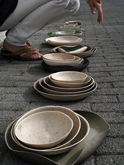 bowls (kirstievn) Tags: blue white color colour green colors ceramic grey design beige ceramics colours natural clay borden pottery plates bowls klei porcelain kirstie wellbeing kleur keramiek kleuren servies porselein schalen natuurlijk aards designacademyeindhoven vannoort kirstievannoort