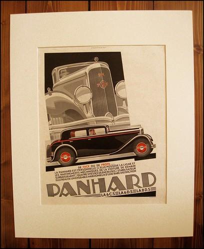 1930s car advert