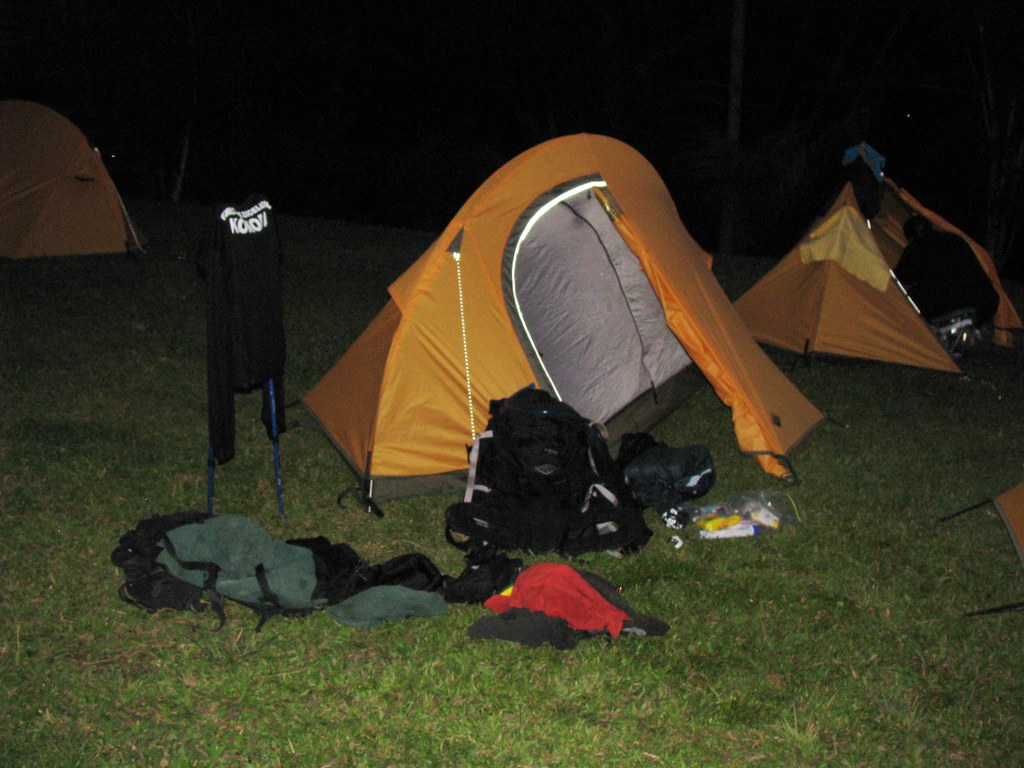 Camping equipment, Kokoda Track, Papua New Guinea