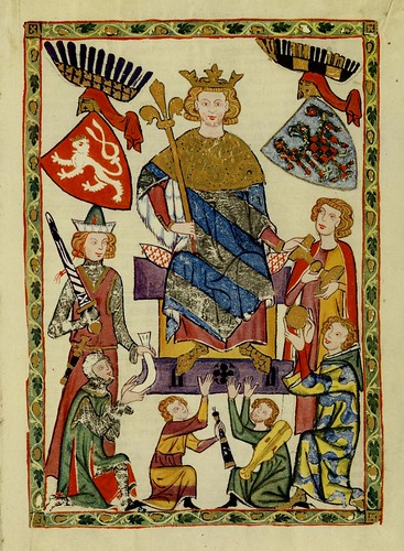 001-Rey Wenceslao II de Bohemia-Codex Manesse