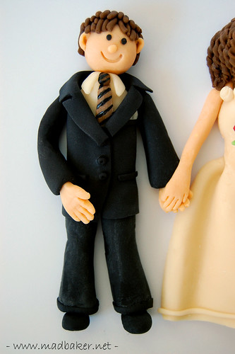 Groom Cake Topper Closeup