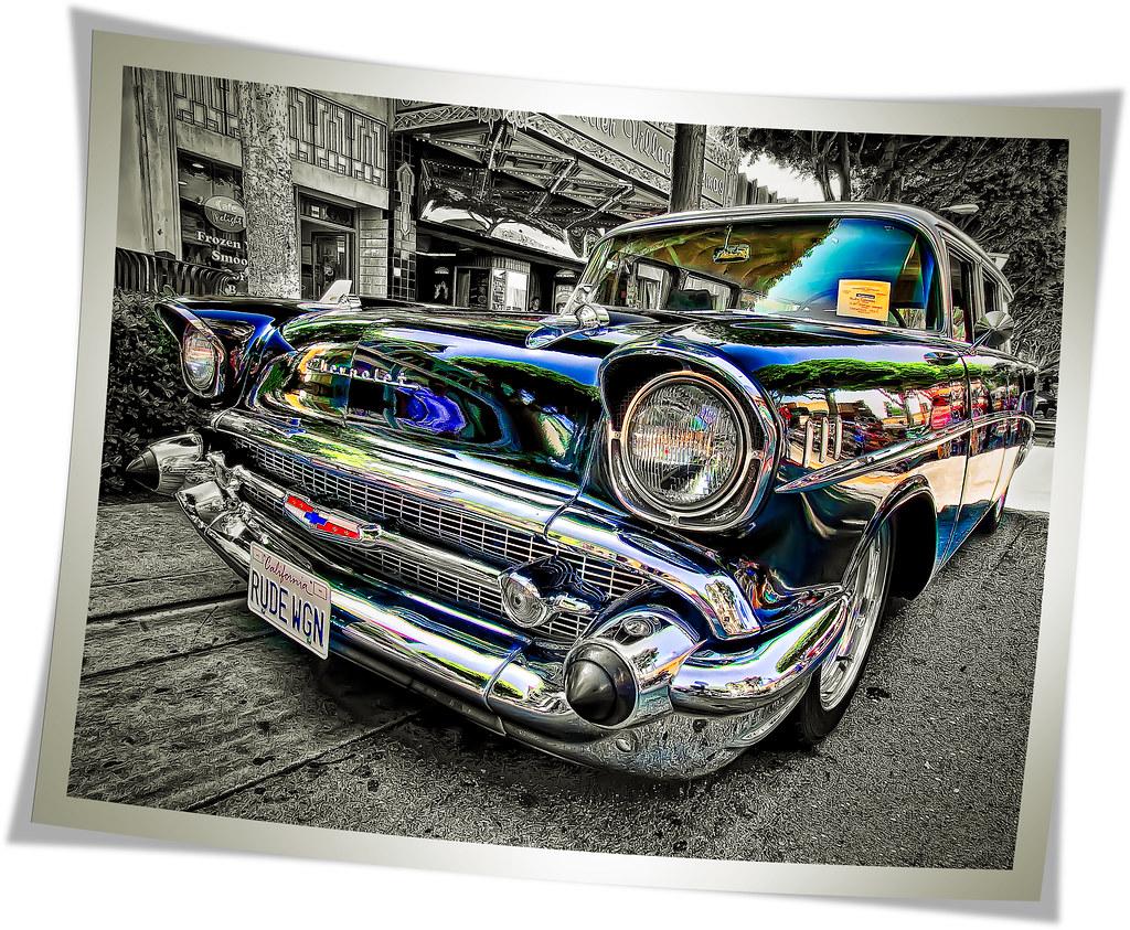 Big Pixel Pusher Journal 1941 Chevy Station Wagon