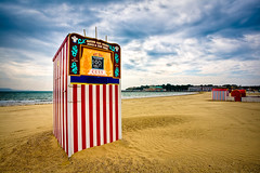 A Punch and Judy world! (Terry Yarrow) Tags: sea summer holiday beach canon children coast seaside sand closed play harbour dorset weymouth hdr punchandjudy eos5d 1192 dorsetcoastpath