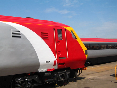 Intercity charter train - refurbished 2009
