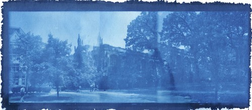 Chicago Campus 2 Cyanotype